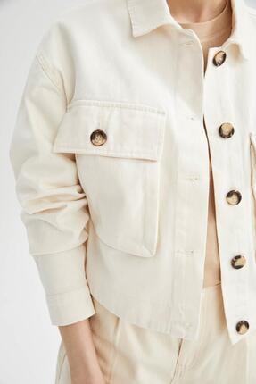 DeFacto Relax Fit Cep Detaylı Ceket