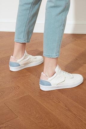 TRENDYOLMİLLA Beyaz Kadın Sneaker TAKSS21SN0020