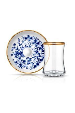 Koleksiyon1 Tiryaki 6 lı Çay Seti Meltem