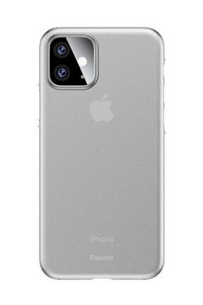 Baseus Wing Case Iphone 11 6.1 2019 Ultra İnce Lux Mat Şeffaf Kılıf Şeffaf