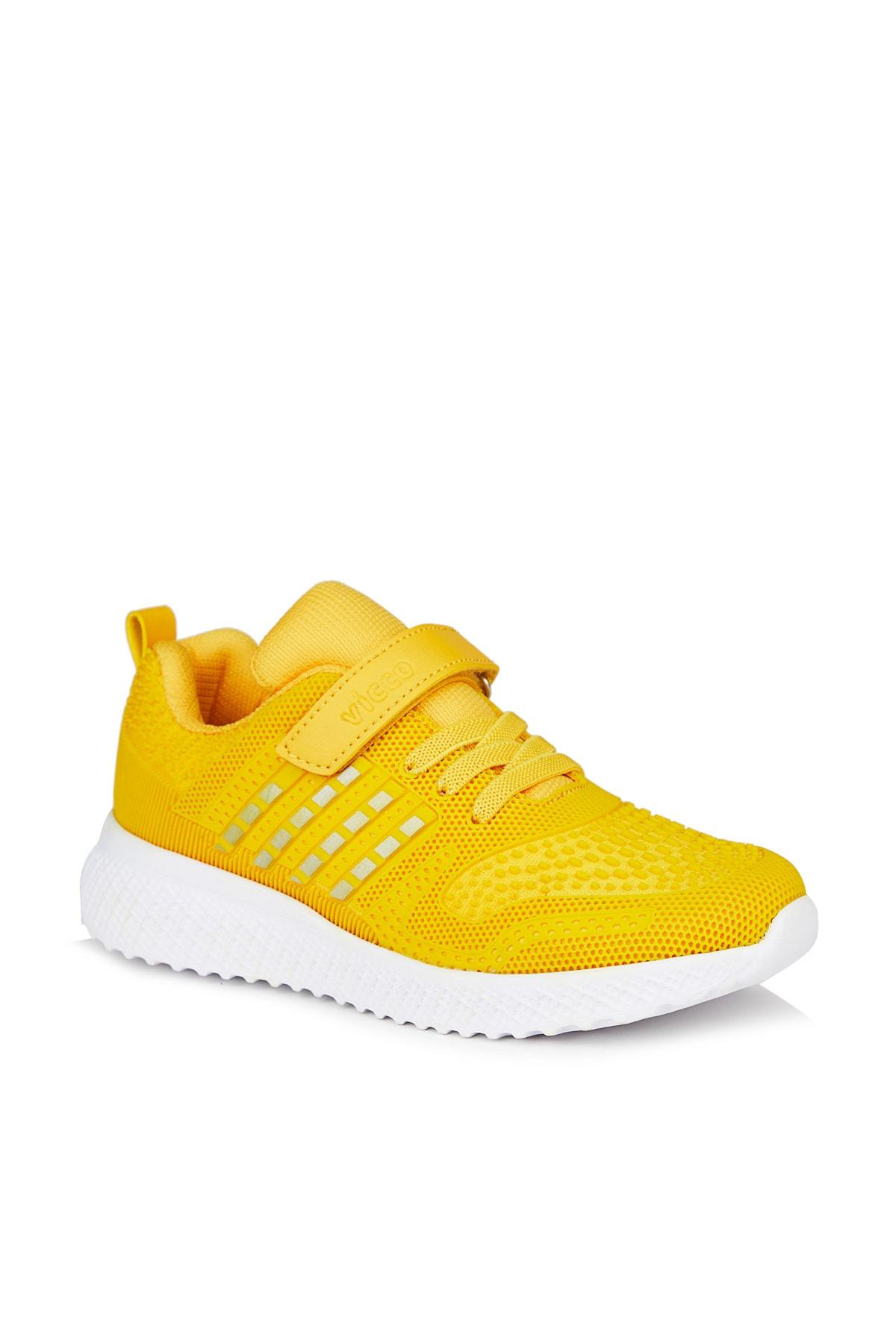 Vicco Sharp Unisex Çocuk Sarı Spor Ayakkabı 1