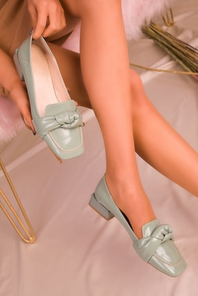 SOHO Yeşil Mat Rugan Kadın Casual Ayakkabı 16165