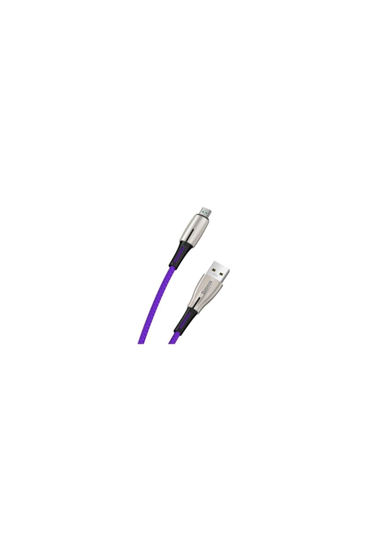 Baseus Camrd-b01 4a Waterdrop Micro Usb 4a Hızlı Şarj Usb Kablo 1 Mt 2
