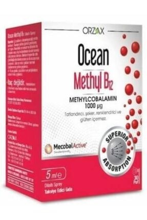Ocean 3 Kutu Methyl B12 1000 Mcg Sprey 5 ml