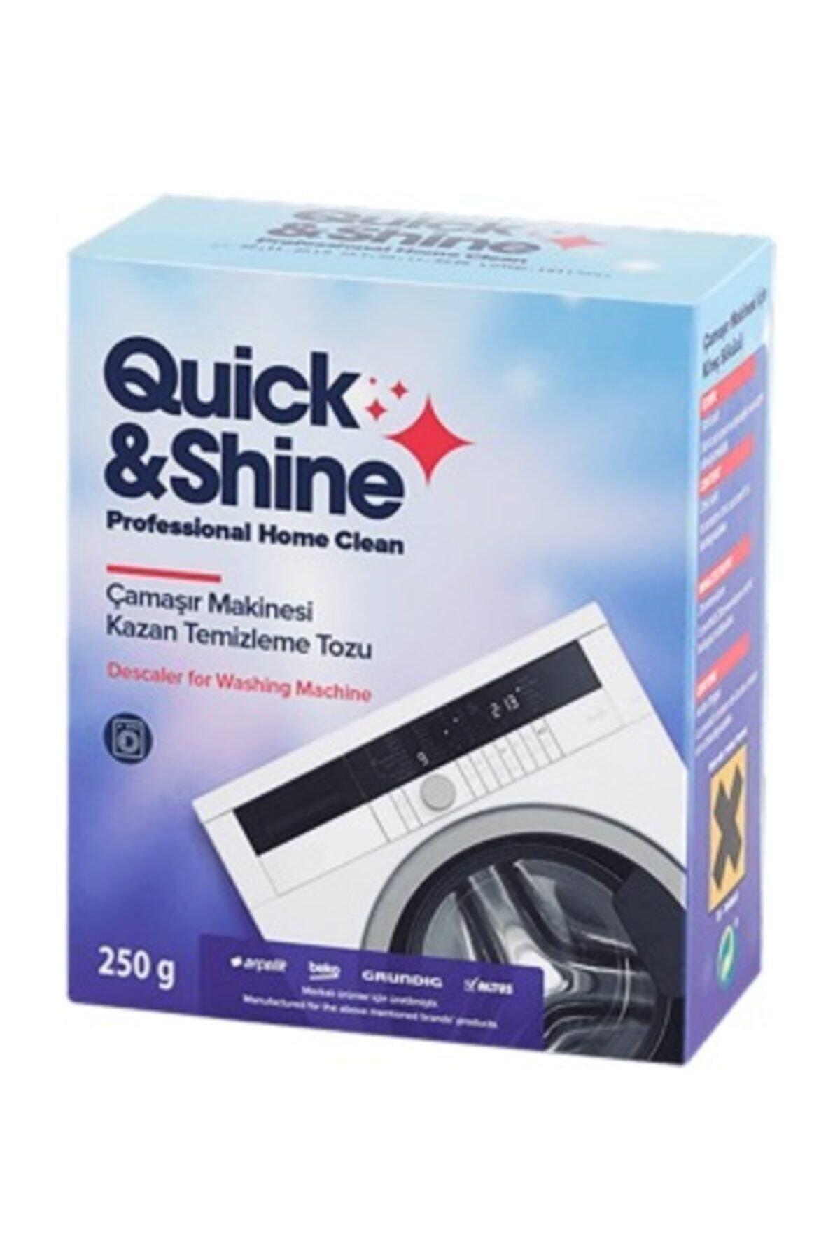 Quick&Shine Çamaşır Makinesi Kazan Temizleme Kireç Sökücü Tozu 1