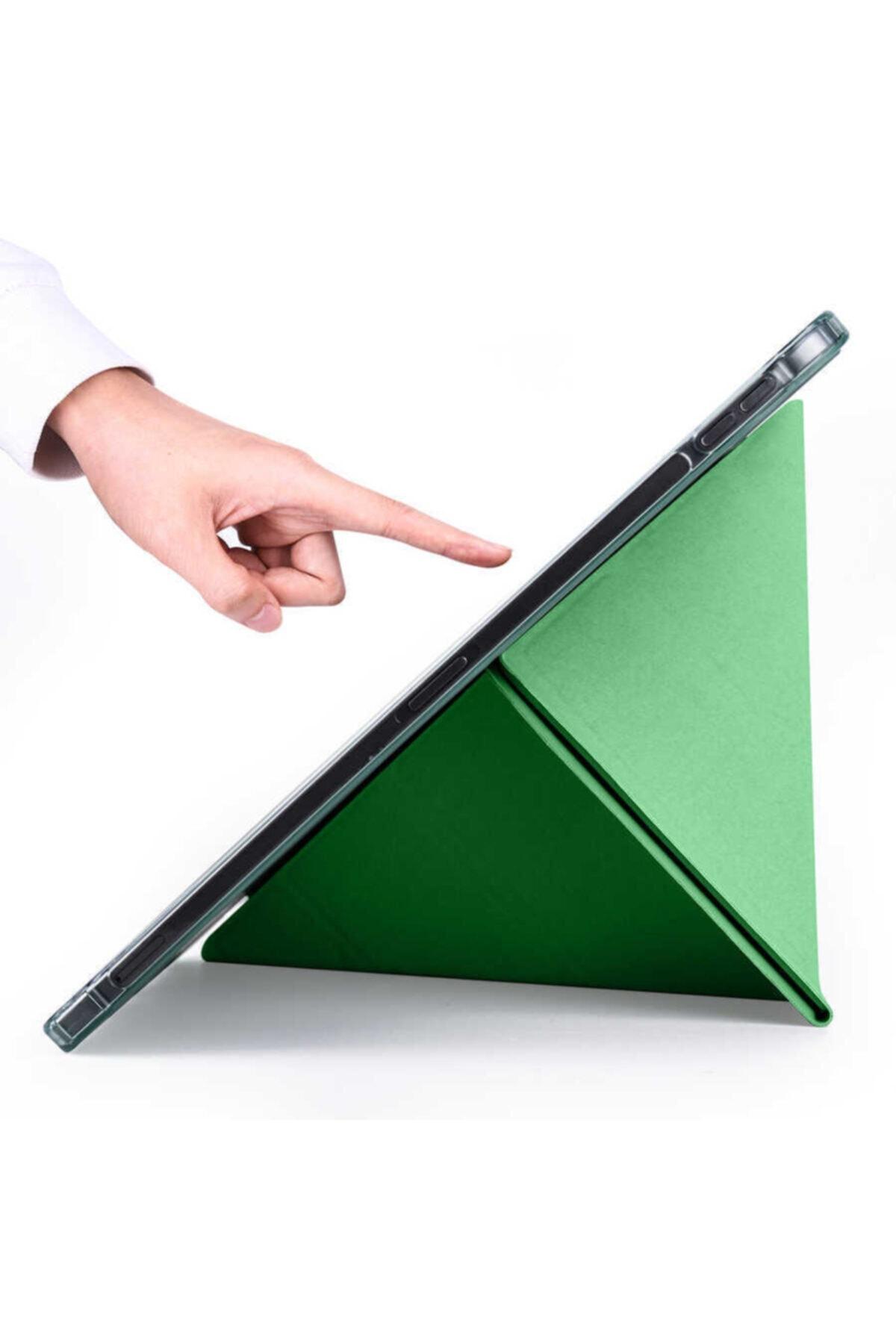 """zore Apple Ipad Pro 2020 11"""" Tablet Kılıfı Standlı Kalem Yuvalı Koruma Kapaklı Esnek Silikon Kapak 2"""