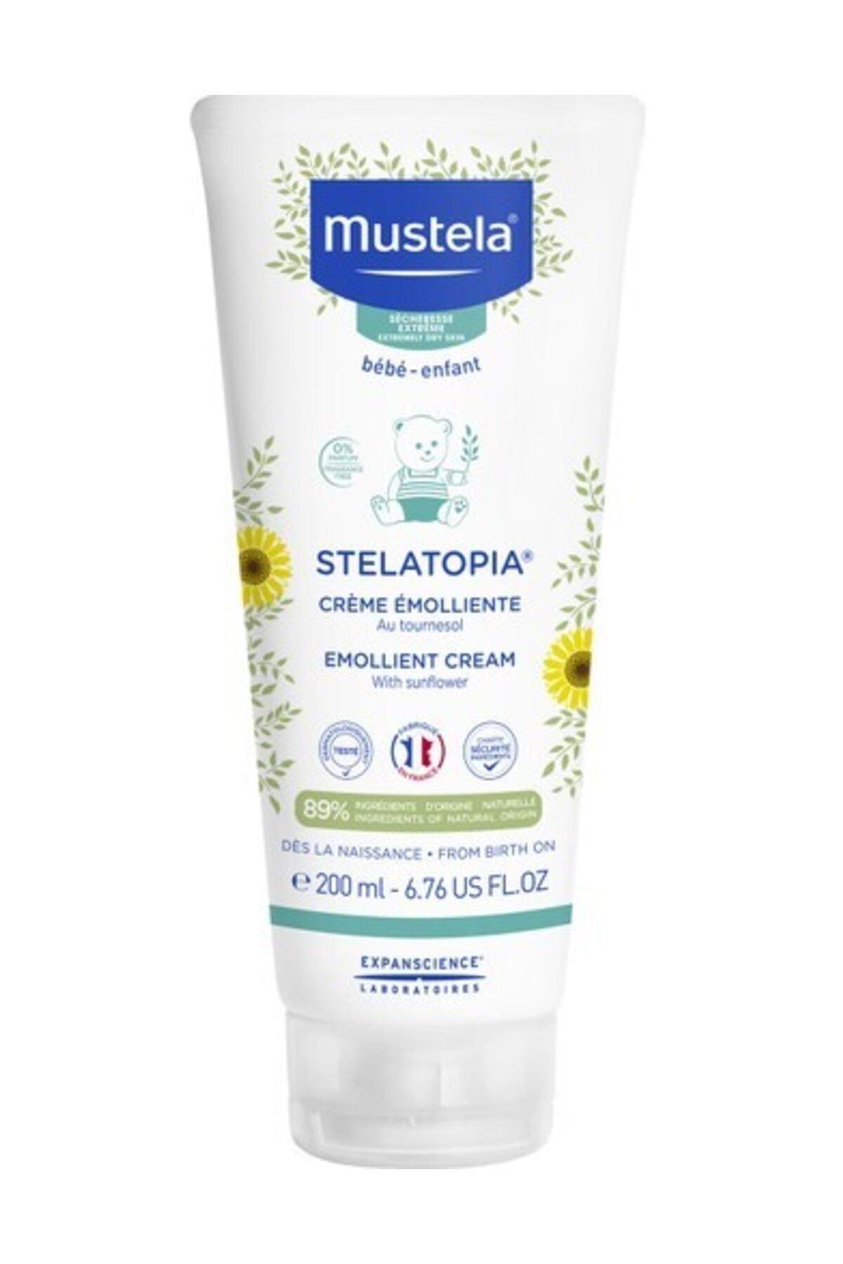Mustela Stelatopia Emollient Cream 200 ml 1