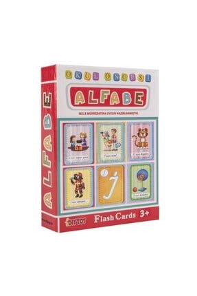 DIY Toys Dıy-toy Flash Cards Alfabe