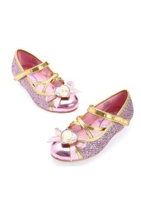 DISNEY A028 - Disney Prenses Rapunzel Kostüm Ayakkabısı - Orjinal Lisanslı Disney Ürünü