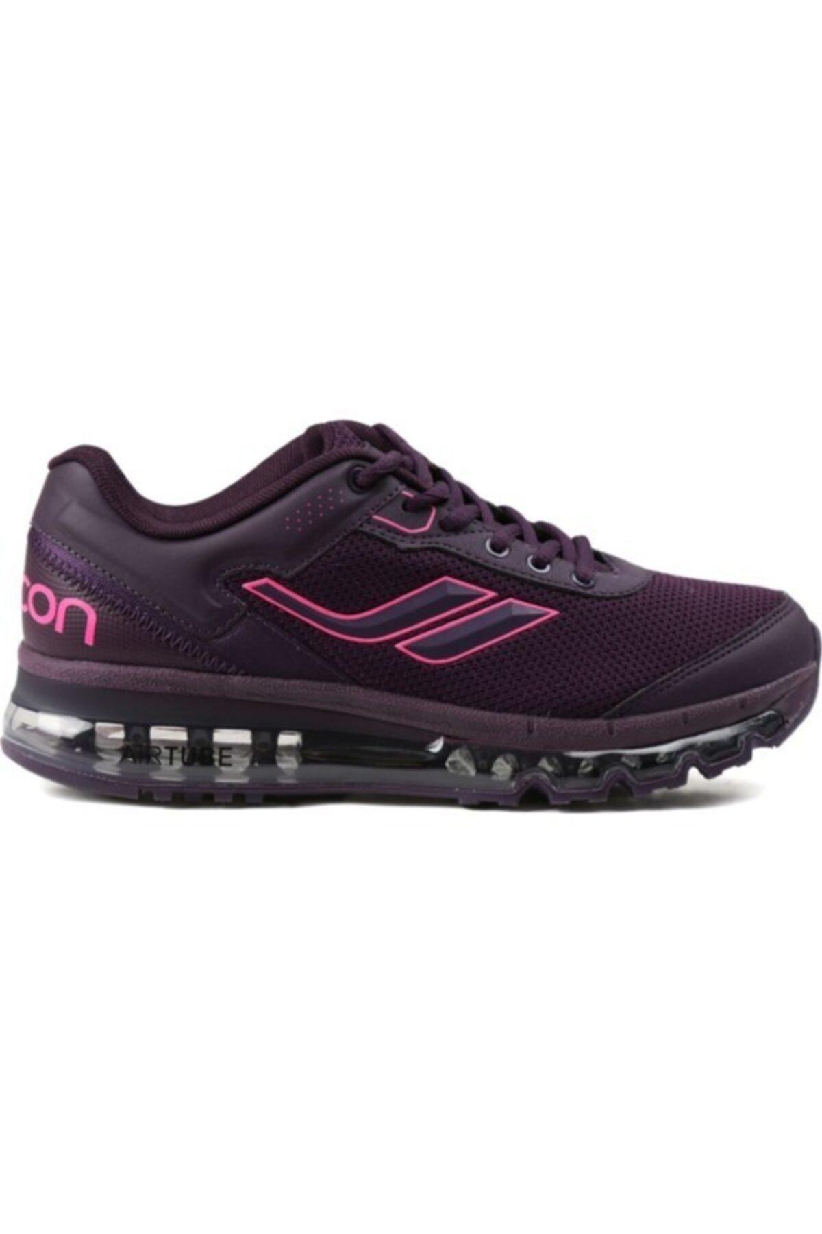 Lescon Kadın Mürdüm Airtube Spor Ayakkabı L-4603 1