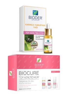 Bioder Tüy Azaltma Etkili Karınca Yumurtası Yağı 30ml+tüy Azaltıcı Vücut Serum 3x10ml