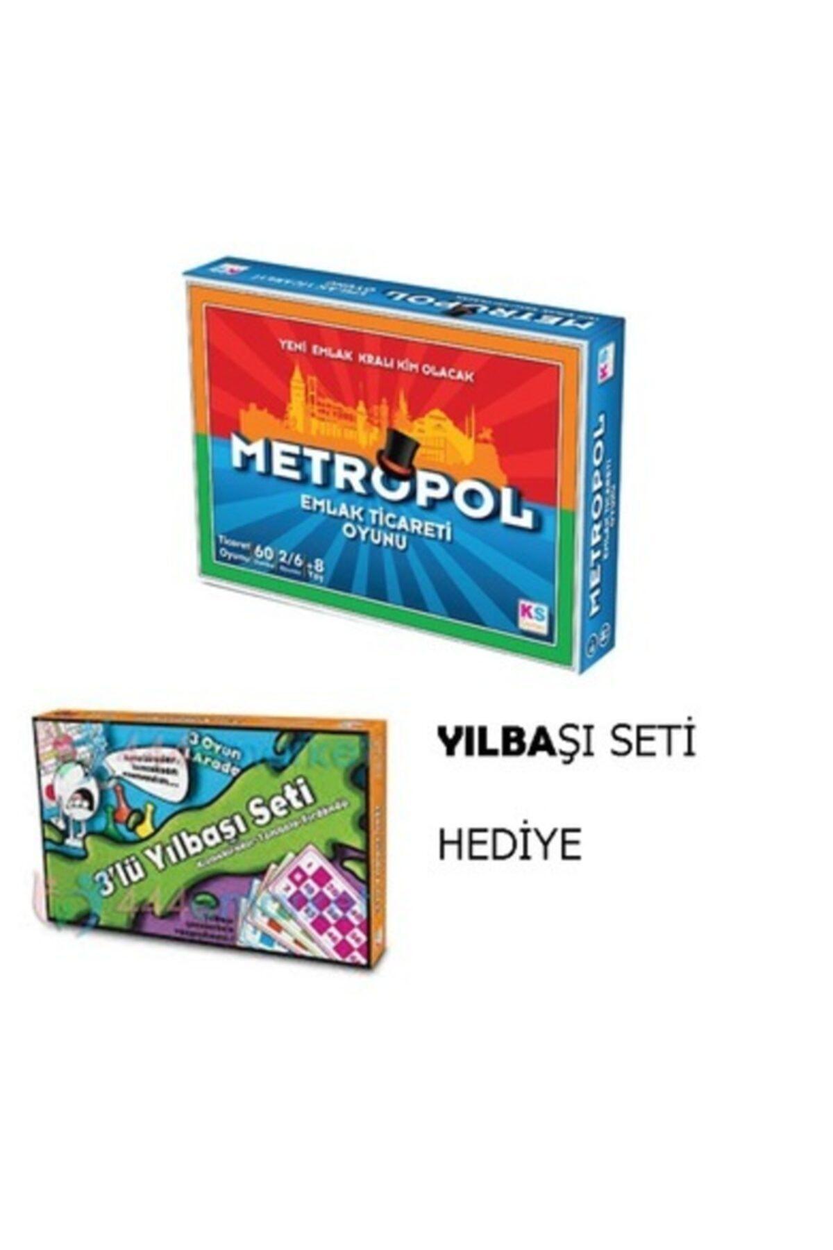Ks Games Metropol Emlak Ticaret Oyunu -Tombala Kızmabirader -Fırdöndü Birarada Kutu Oyunları 1