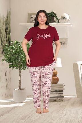 Truva XXL Büyük Beden Kadın Giyim Pjama Takımı