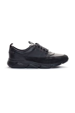 Giovane Gentile Erkek Siyah Bağcıklı Sneaker