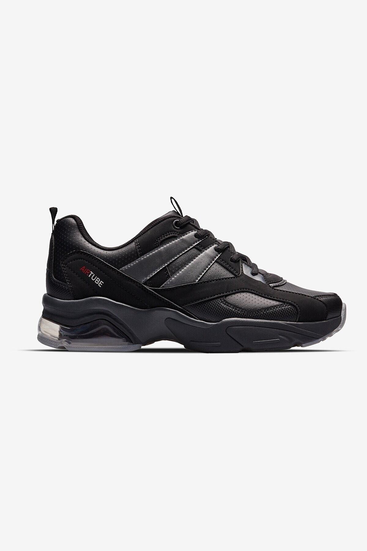 Lescon Kadın Siyah Ayakkabı 2