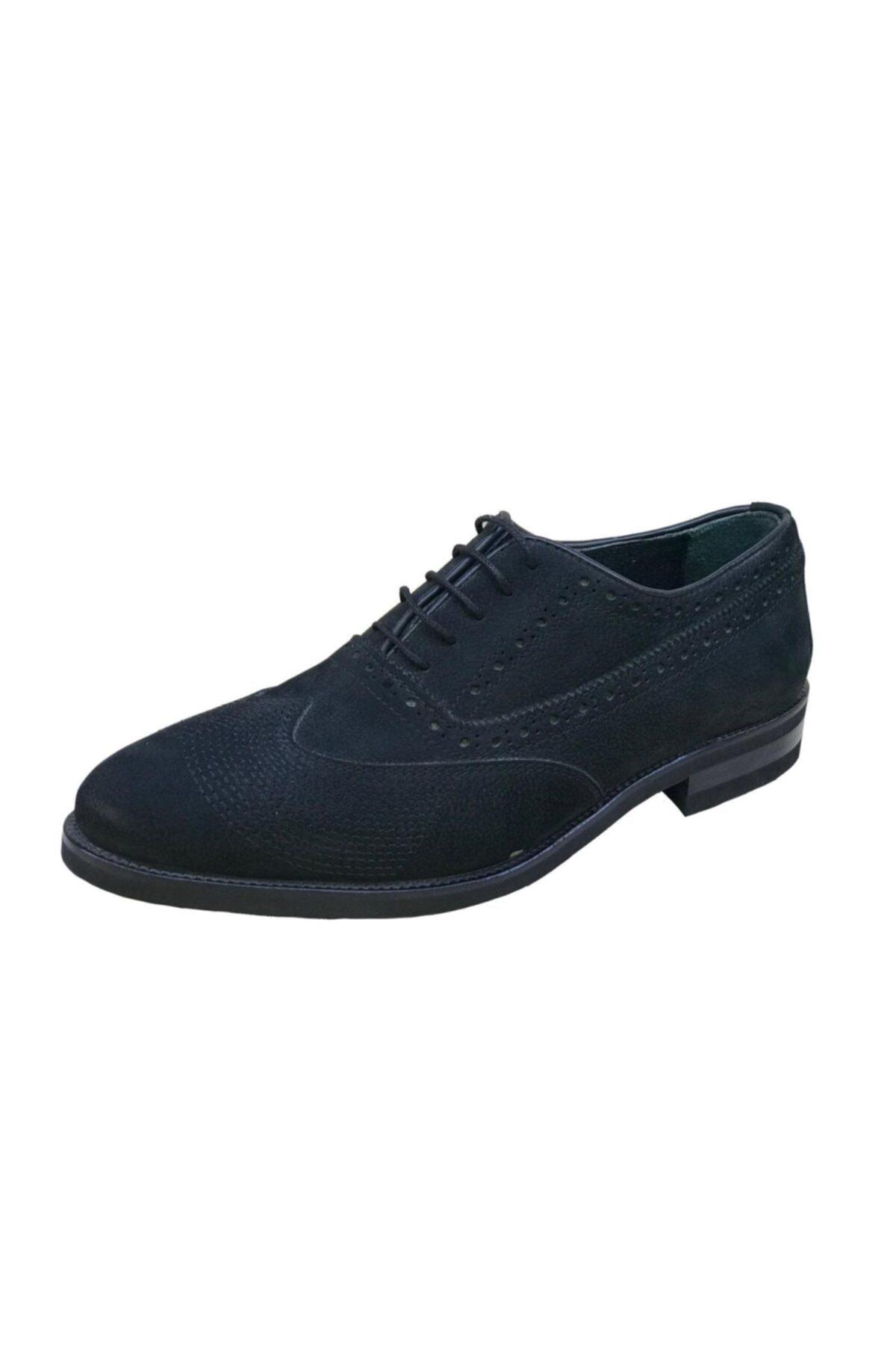 TETRİ 25 Erkek Çift Yüz Nubuk Klasik Ayakkabı 1