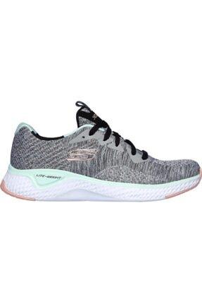 SKECHERS Kadın Gri Ayakkabı 13328-gymt Solar Fuse