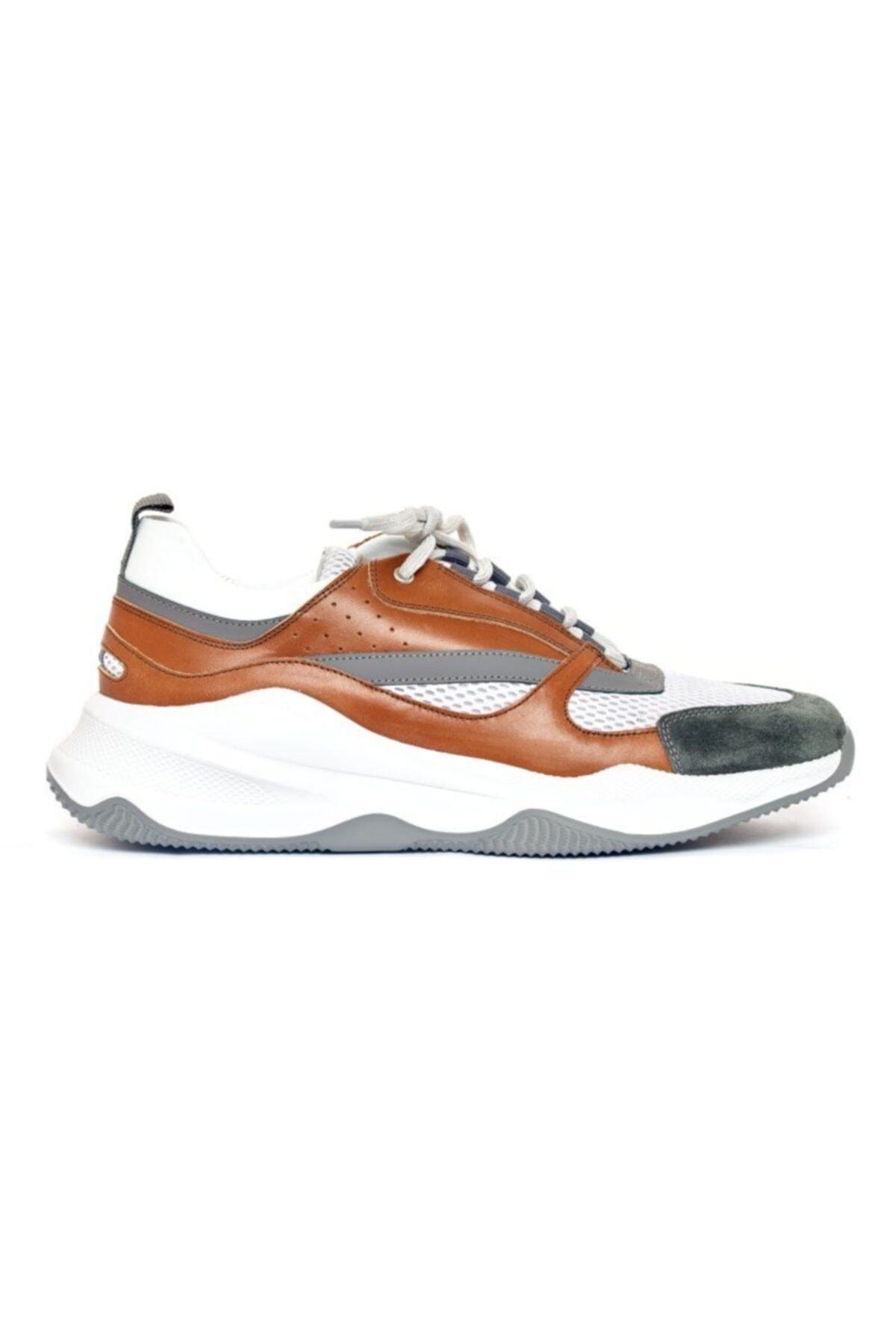Giovane Gentile Erkek Hardal Renk Bağcıklı Ayakkabı 1