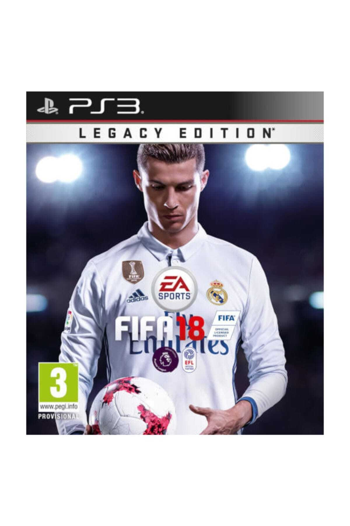 Electronic Arts Fifa 18 Legacy Edition Ps3 Oyun 1