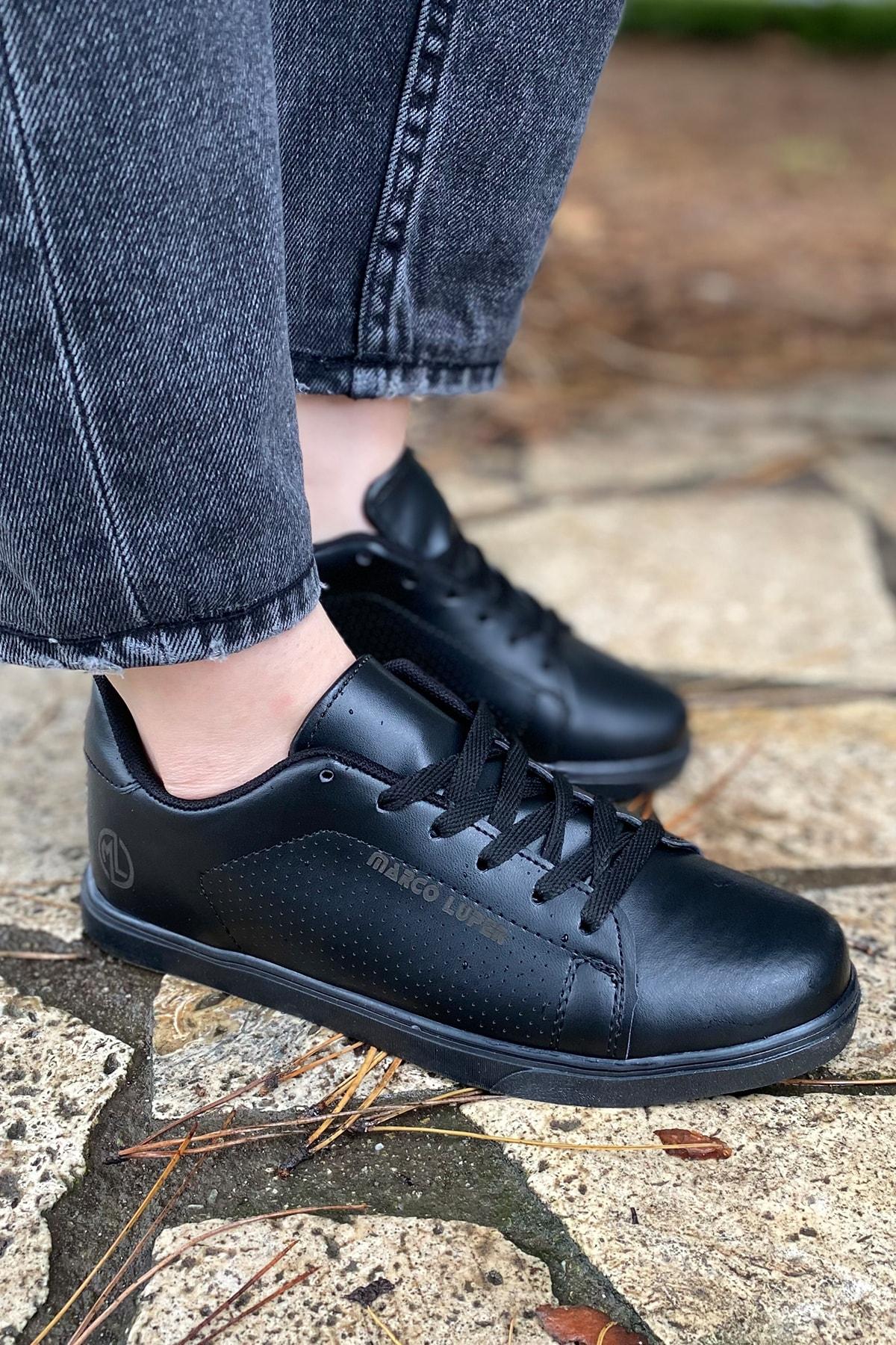 ICELAKE Kadın Siyah Sneaker Ysn01257kd00 1