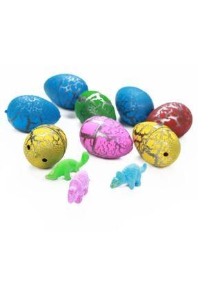 NO NAME Suda Büyüyen Dinazor Yumurtası 6 Adet Dinazor Yumurtası