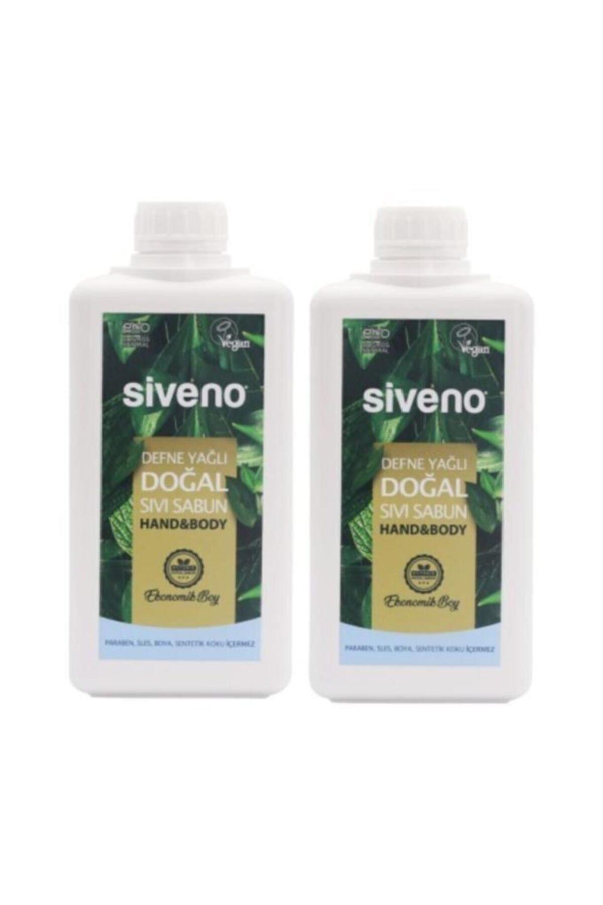 Siveno Defne Yağlı Doğal Sıvı Sabun 2x1 Lt 1