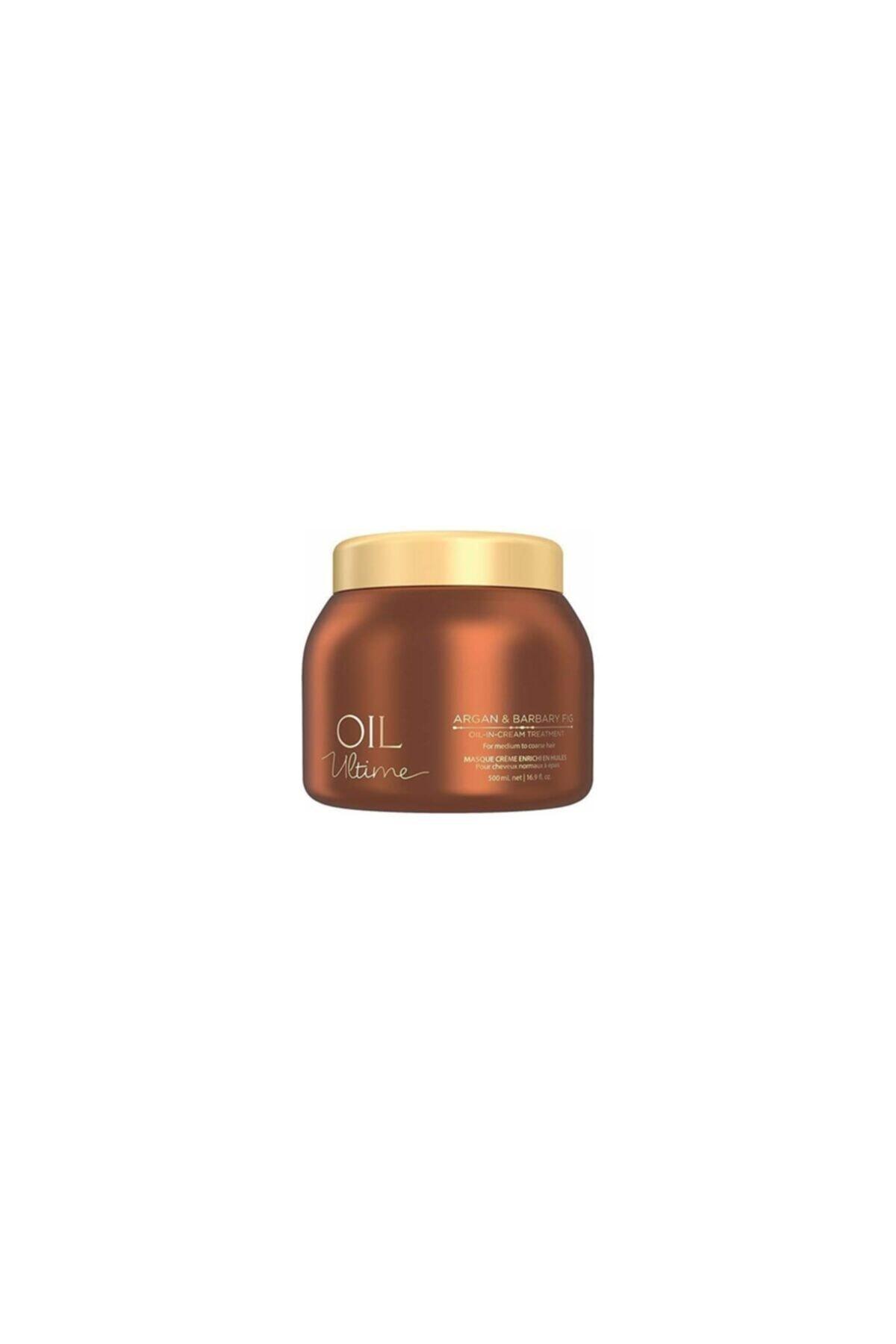 SCHWARZKOPF HAIR MASCARA Oil Ultime Argan Yağı&frenk Inciri Işıltı Kürü 500ml 1