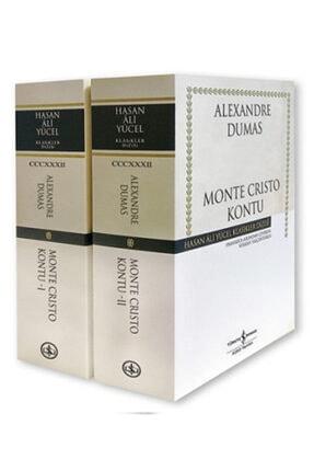 İş Bankası Kültür Yayınları Monte Cristo Kontu - 2 Kitap Takım
