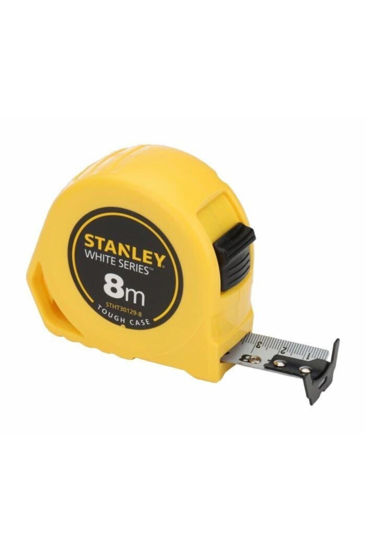 Stanley Beyaz Şeritli Metre 8m x 25mm Stht30129-8 2