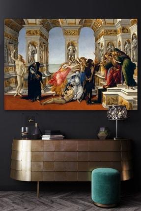 Hediyeler Kapında Sarayda Kargaşa Rönesans Kanvas Tablo 70x100