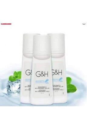 Amway Terlemeye Karşı Koku Giderici Roll-on Deodorant - G&h Protect 3 Adet