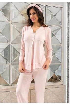 Xses Kadın Hamile Lohusa Pijama Takım 2180
