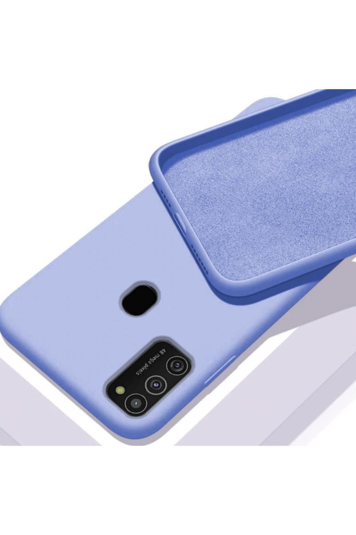StectMobile Samsung Galaxy M31 Içi Uyumlu  Kadife Lansman Kılıf 1