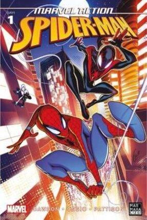 Marmara Çizgi Yayınları Marvel Action Spider-man 1 - Delilah S. Dawson