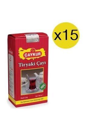 Çaykur Tiryaki Çay 500 Gr X 15 Adet (koli)