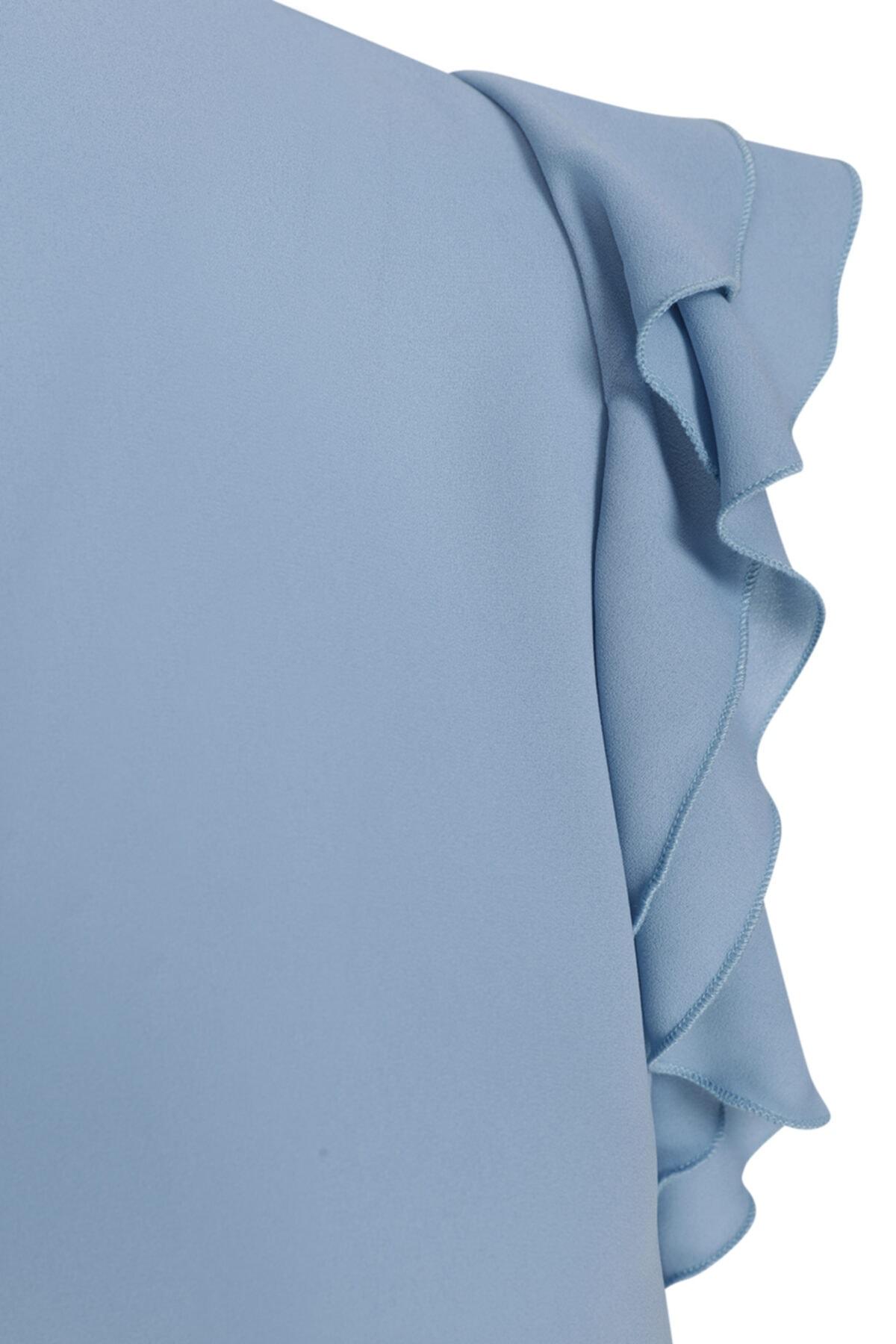 W Collection Kolsuz Şifon Bluz 2