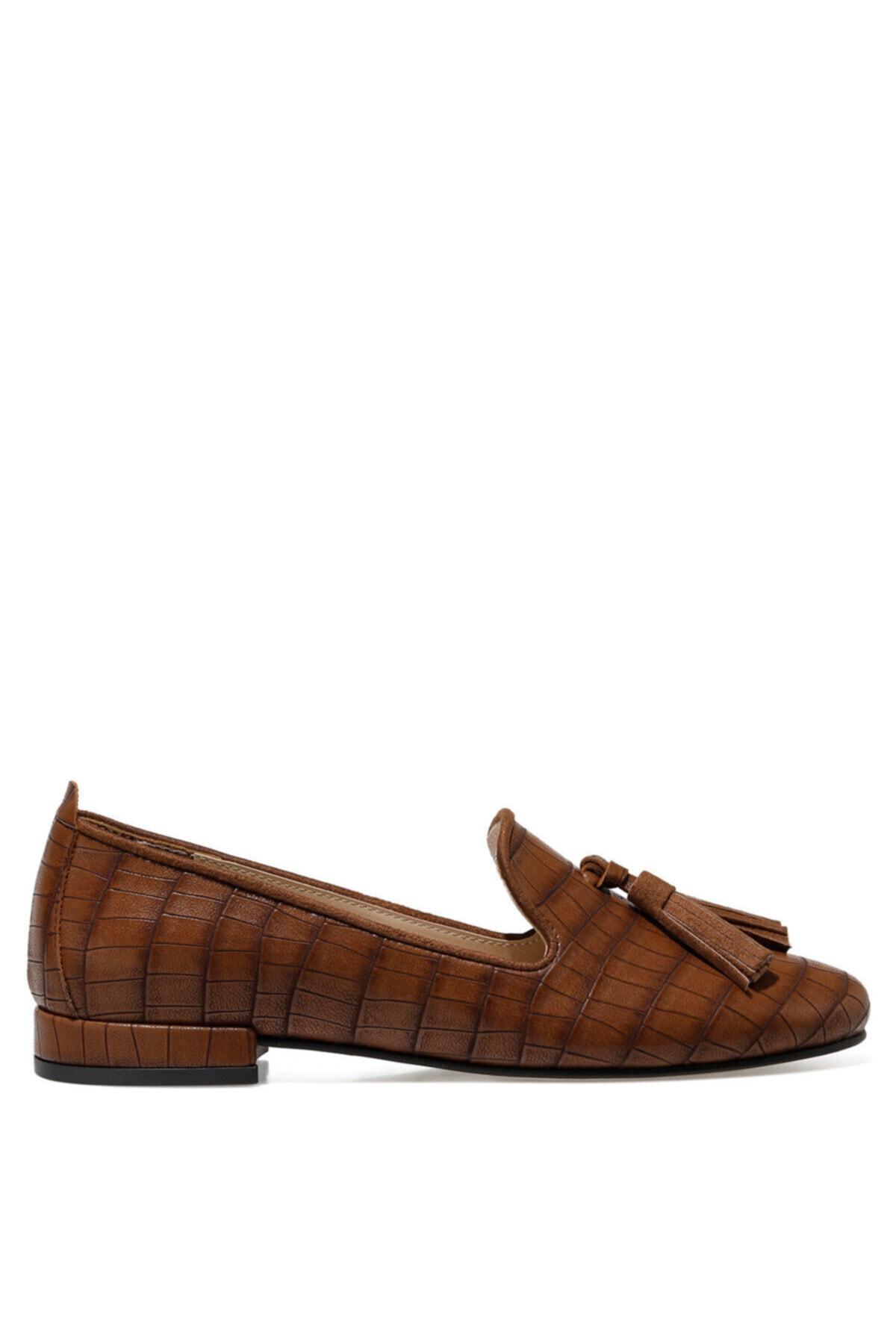 İnci CELA Taba Kadın Loafer Ayakkabı 101025783 1