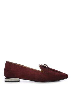 KEMAL TANCA Kadın Bordo Ayakkabı