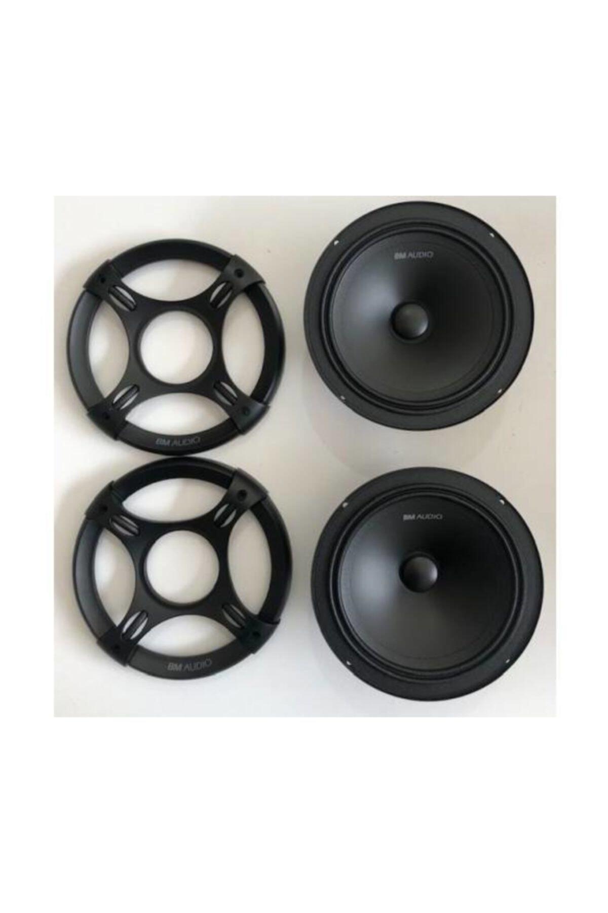 bm audio Boschmann 16 Cm 330 Watt Midrange Hoparlör Anfi Uyumlu ( 2 Adet ) 1