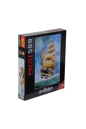 Anatolıan Karayip Kralı Puzzle 500 Parça