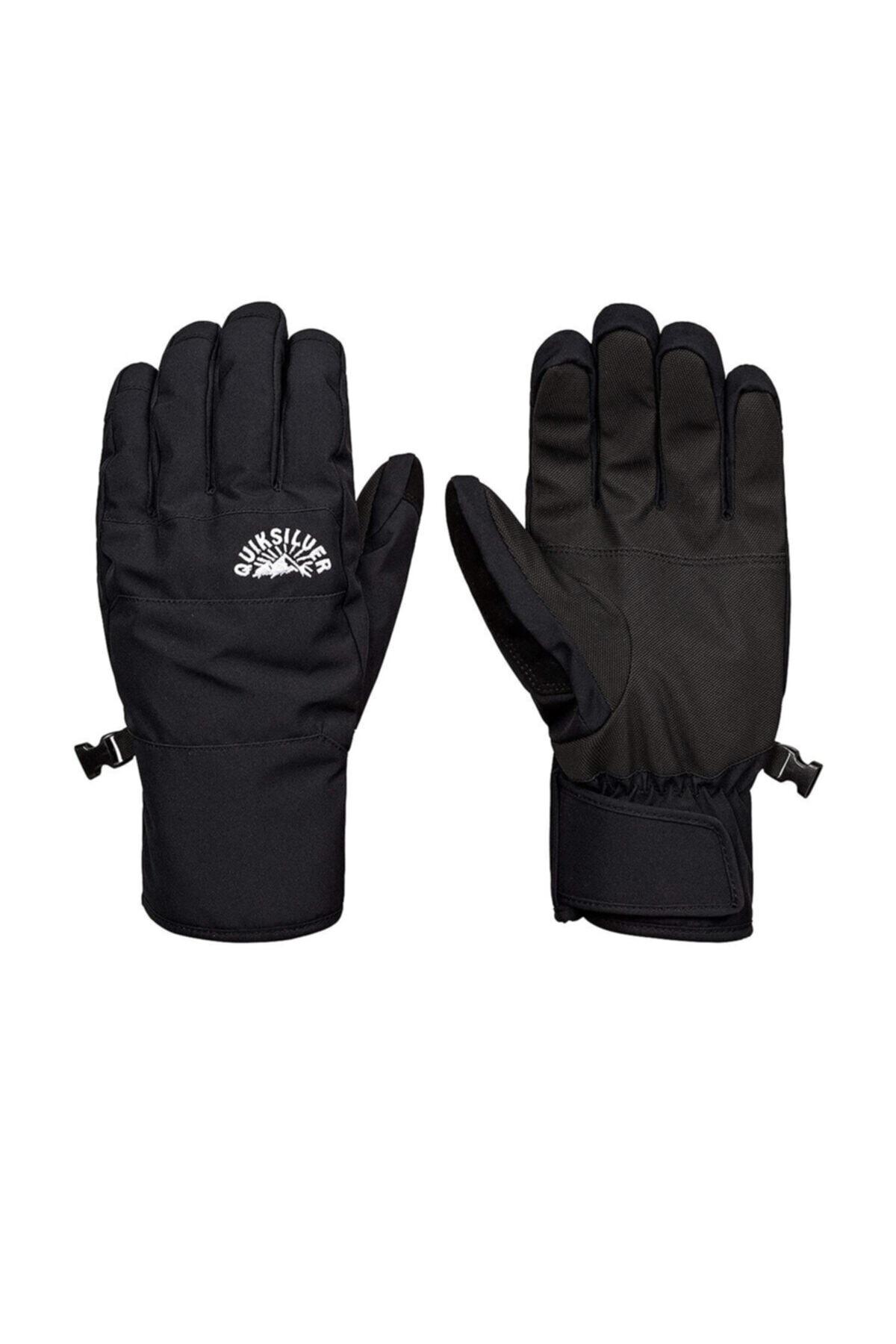 Quiksilver Cross Glove M Glov Prm0 Siyah Erkek Eldiven 1