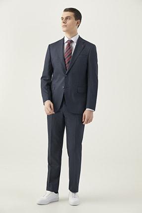 D'S Damat Lacivert Renk Erkek  Takım Elbise (Slim Fit)