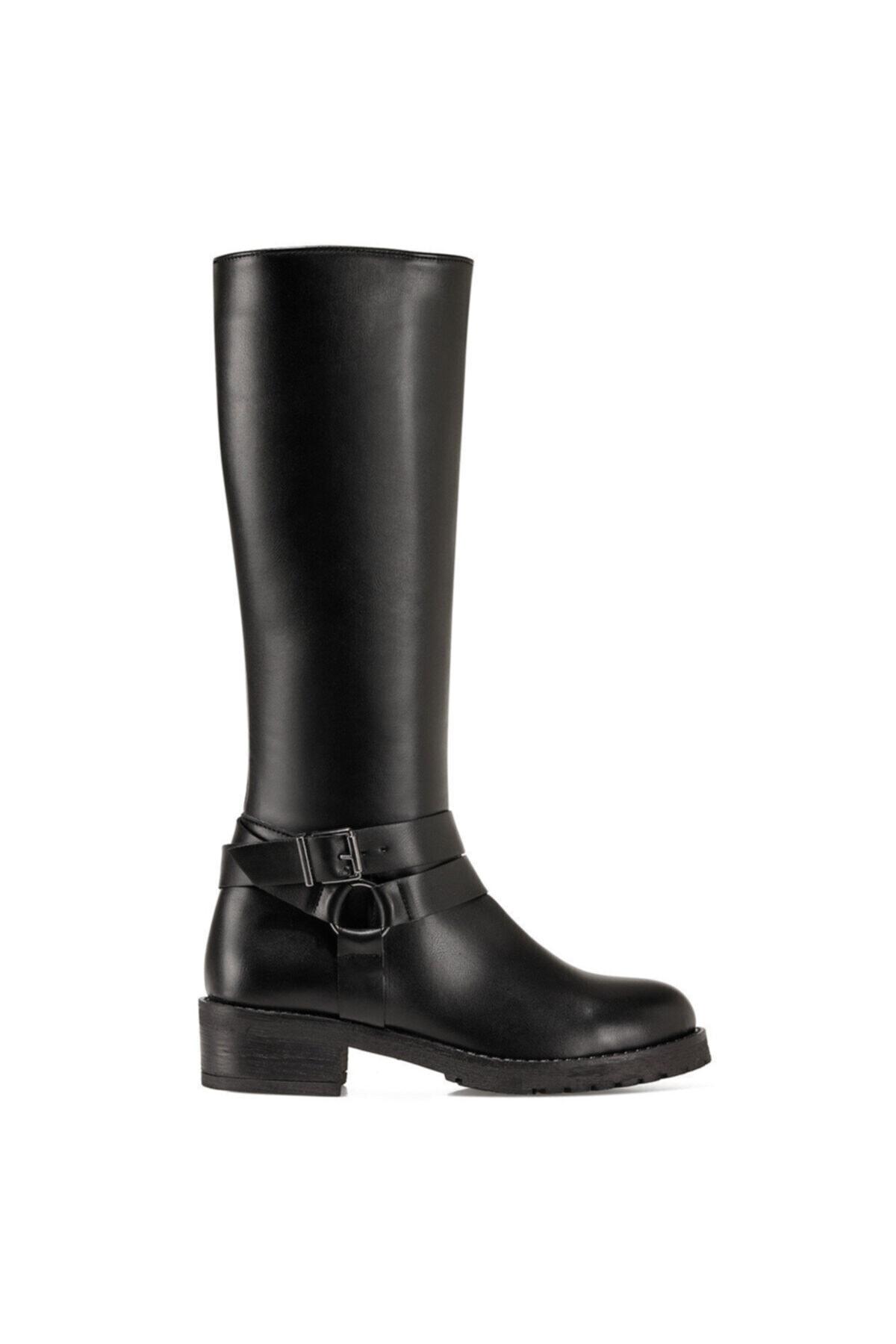 Nine West PASOV Siyah Kadın Çizme 100555960 1