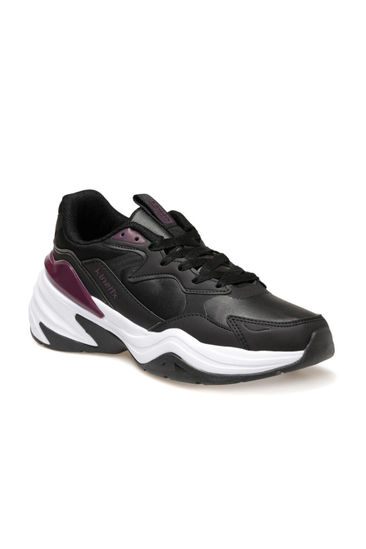 Kinetix REGAL PU W Siyah Kadın Sneaker Ayakkabı 100536054 1