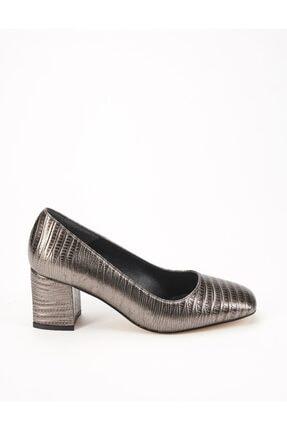 Ataköy Ayakkabı Kadın Platin Topuklu Ayakkabı