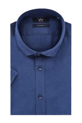 W Collection Erkek Lacivert Gömlek