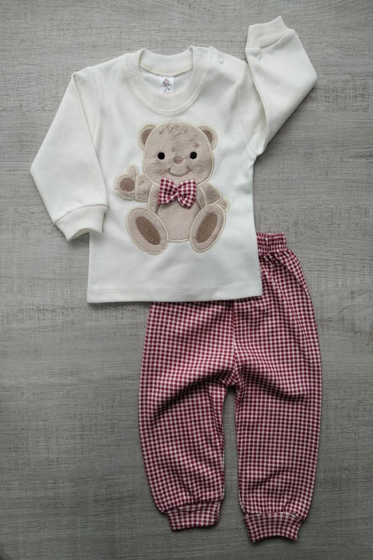 Bebek Exclusive Ayıcıklı Bebek 2li Takım 1