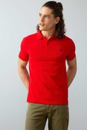 U.S. Polo Assn. Erkek Kırmızı Polo Yaka T-shirt G081gl011.000.739379