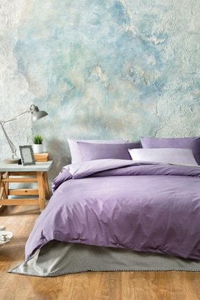 Yataş Bedding Noah Ranforce Çift Kişilik Nevresim Seti-Lila/Mor