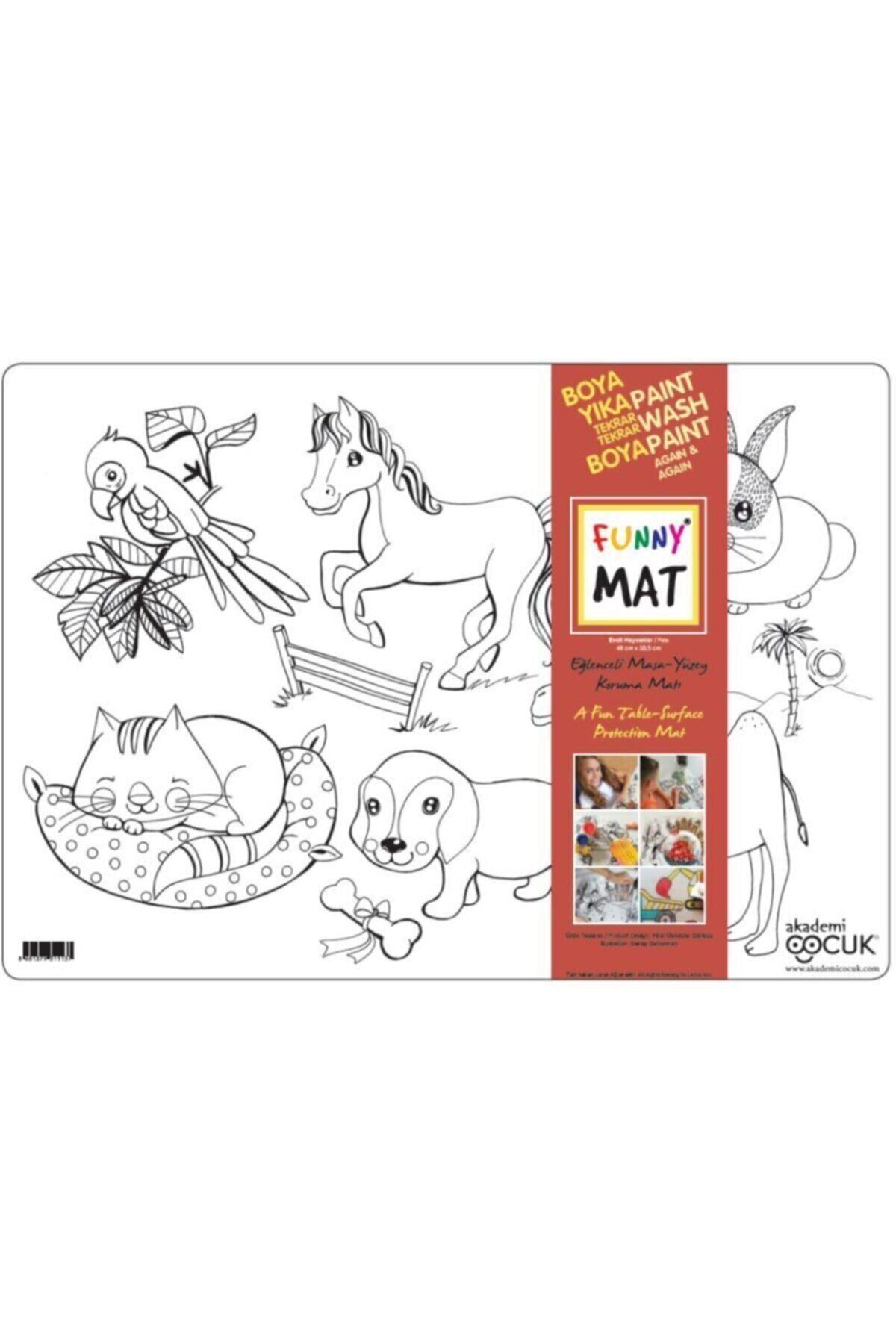 Akademi Çocuk - Funny Mat Funny Mat Evcil Hayvanlar 1